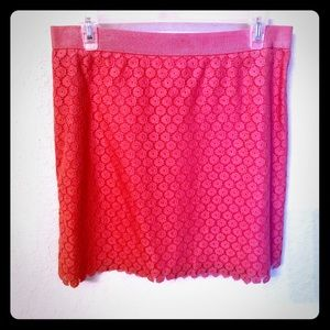 ✨Like new✨ Coral Loft Skirt Size US8